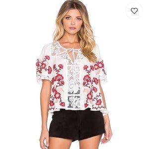 For Love and Lemons Isabella top